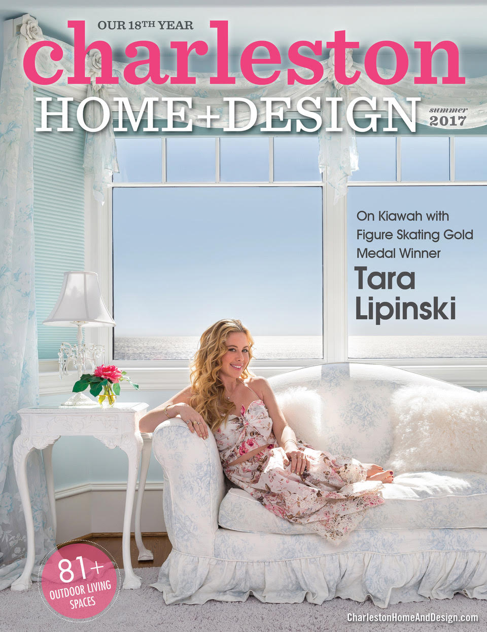 Charleston Home + Design Summer 2017 Magazine Cover