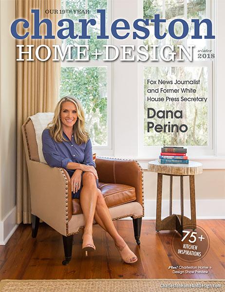 Charleston Home + Design Winter 2018 Magazine Cover