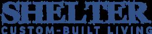 Shelter Custom-Built Living Logo